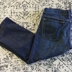 Cropped Citizens of humanity jeans!,, size 30